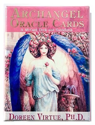 Doreen Virtue Archangel Oracle Cards A 45-Card Deck And Guidebook 2004