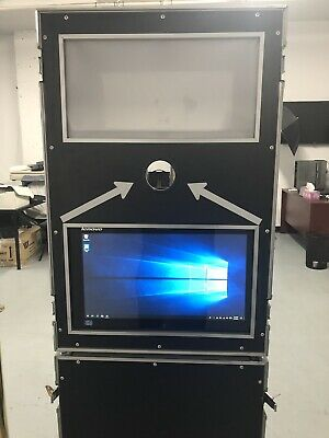 Used photo booth shell + Touchscreen W10 Pc + USB Hub