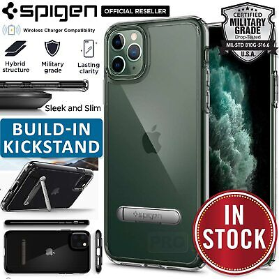 iPhone 11/Pro/Max Case Genuine SPIGEN Ultra Hybrid S Stand Hard Cover for Apple