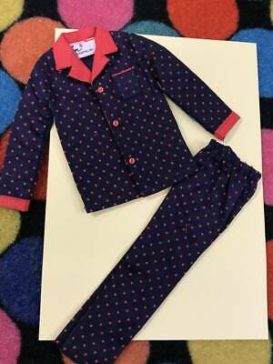 Vintage Barbie KEN TIME TO TURN IN #1418 pajamas set 1967 FreeShipping