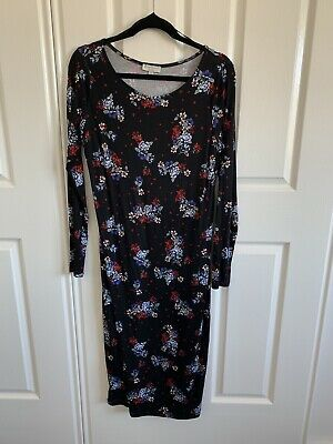 BNWT Bulk Size 12 Target Maternity Dress Nursing Top Floral New Long Sleeve NEW