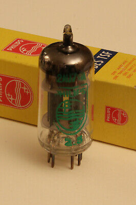 DUAL-TRIODE 12AU7WA - 6189 - ECC82S - PHILIPS - New and tested (n.o.s. / n.i.b.)