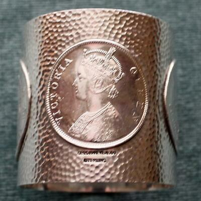 Antique Shreve Sterling Napkin Ring with Coin Designs - Very Rare