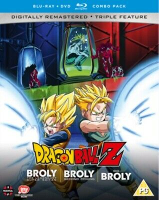Neuf Dragon Ball Z Film Collection 5 - The Broly Trilogie Blu-Ray