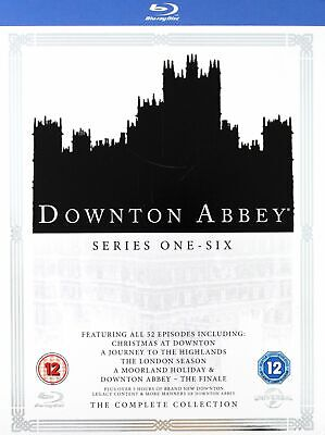 Downton Abbey Series 1 to 6 Complete Collection BLU-RAY NEW BLU-RAY (8309698)