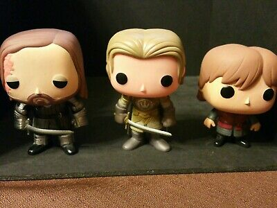 Funko Pop Game Thrones - Hound #09 Jaime #10 And Tyrion #01 OOB LOOSE Vaulted