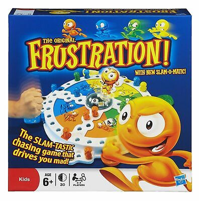 Hasbro 14633 Frustration Board Game for Ages 6 and Up brand new and sealed
