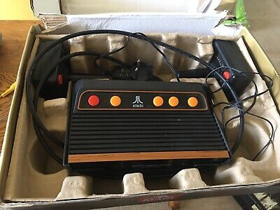 Atari Flashback Console Complete Working Controllers Boxed All Cables 120 Games