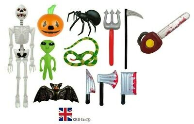 HALLOWEEN INFLATABLES Blow Up Inflatable Fancy Dress Party Prop Decoration UK