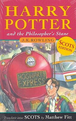 Harry Potter and the Philosopher's Stone SCOTS Edition BRAND NEW BOOK (P/B 2017)