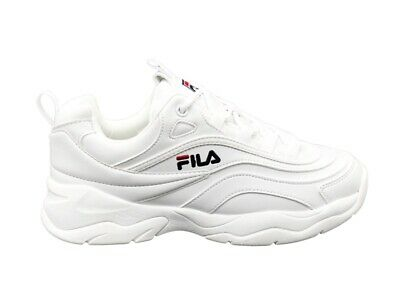 FILA SNEAKERS RAY LOW donna WHITE ECOPELLE STYLE GIRLS 1010562.1FG