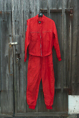 Feuerfester Rennanzug Vintage Racing suit Classic Oldtimer Overall, FPT, Gr. 56