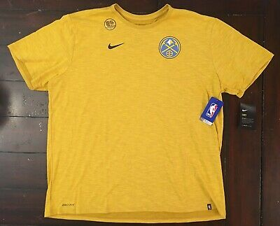 factory price ff674 2bed0 NIKE 2019 DENVER Nuggets City Edition Essential Logo ...