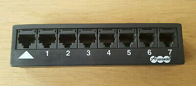 MwSt. inkl RJ-45 Auerswald Multiplug IN 1-Fach // OUT 7-Fach