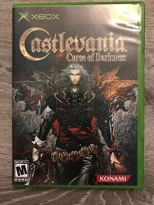 Castlevania: Curse of Darkness (Microsoft Xbox, 2005) Complete Tested Working