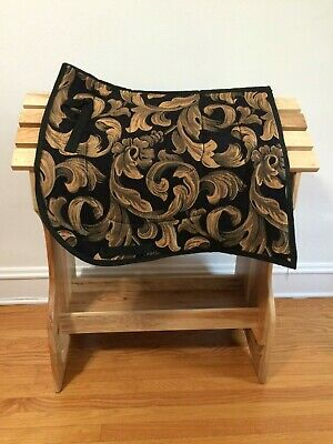 Stupendous Roma Swallow Tail Competition Dressage Saddle Pad With Theyellowbook Wood Chair Design Ideas Theyellowbookinfo