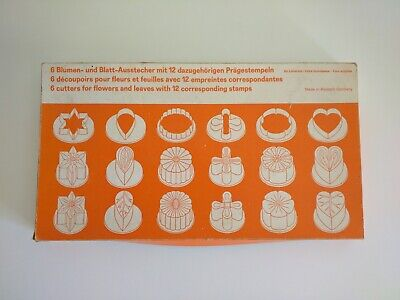 A Vintage Set Of West German Cutters And Shapes In Their Original Box. Fast Post