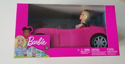 Barbie Convertible Car And Doll Set New Sealed BNIB Christmas Gift Free P&P