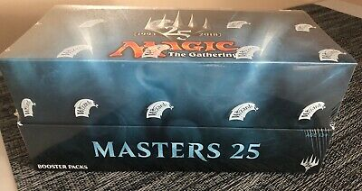 Magic: The Gathering Masters 25 Booster Box BRAND NEW FACTORY SEALED UNOPENED