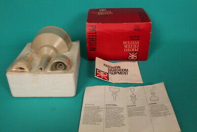 Vintage PATERSON Photo Filter System (Boxed) Film processing water filter system