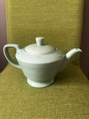 Vintage Good Condition Woods Ware Beryl Green 14.5cm Teapot 1Ltr