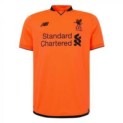 Shirt Liverpool 125 Years New Balance 2017-18 Third Jersey Camiseta Size-Lb