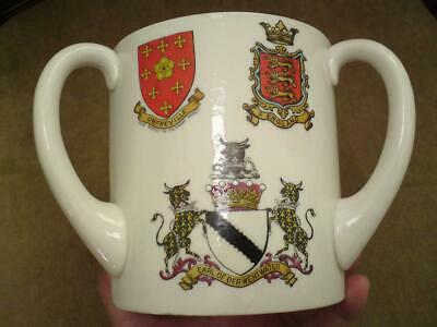 Large Victorian W.H. Goss Loving Cup James Ratcliffe Executed For Treason 1716