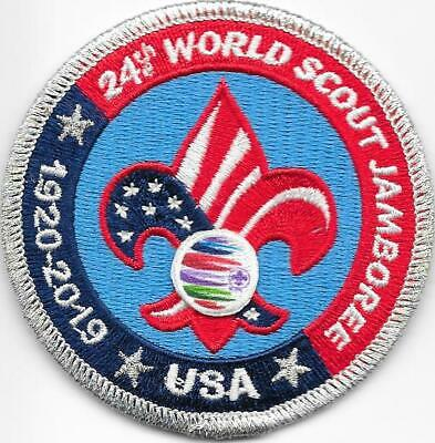 2019 24th Boy Scouts of America BSA World Scout Jamboree Patch