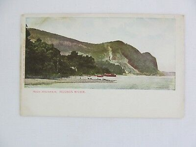 Vintage Postcard Hook Mountain Hudson River New York