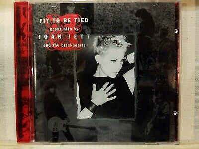 Joan Jett And The Blackhearts: Fit To Be Tied - Greatest Hits Cd! Near Mint!
