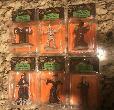 Spooky Town by Lemax Figurines Lot Of 6 Brand New