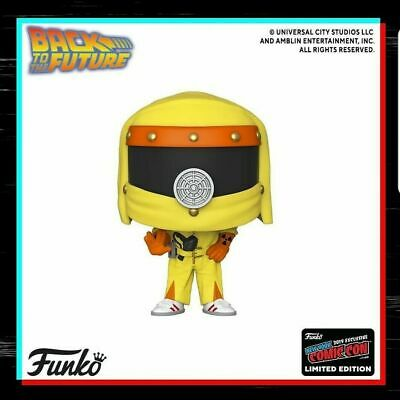 2019 Nycc Funko Pop Marty McFly Back To The Future Official Sticker Presale