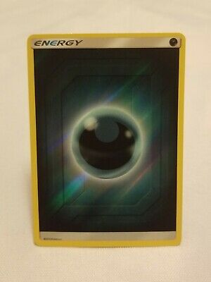 Darkness Energy 2019 Reverse Holo Sun & Moon: Hidden Fates Pokemon TCG