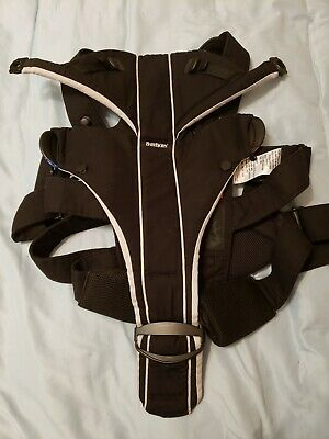 BABY BJORN Black Infant Carrier Chest Harness