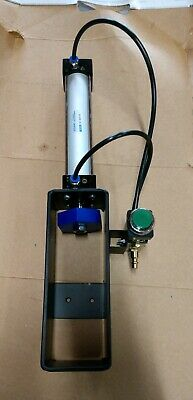 Matte Black Pneumatic Can Crusher 12 &16 Oz Air Cylinder Recycling Man Cave Dad