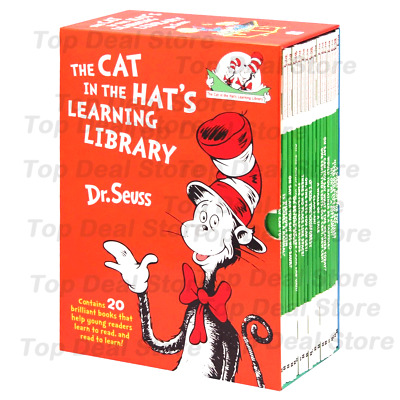 The Cat In The Hat's Learning Library by Dr. Seuss 20 Book Box Set Free Delivery