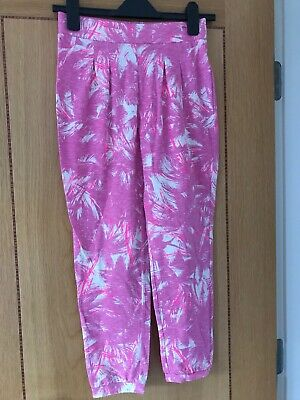 Girls Trousers From GAP Pink Large Age 10 Years - BRAND NEW