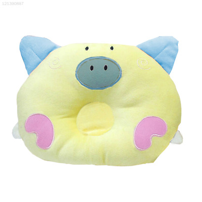 6BE6 Yellow Pillow Infant Necks Anti Roll Sleepping Positioner Cartoon