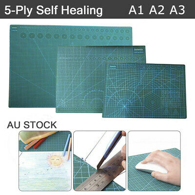 New A1 A2 A3 Large Thick Self Healing Cutting Mat Double-Side Art Craft DIY