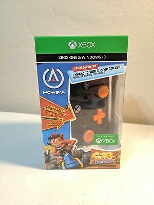 PowerA Enhanced Wired Controller for Xbox One, Crash Bandicoot CTR