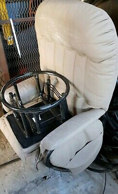 Valco Relax Glider Rocking Chair Ottomam Used