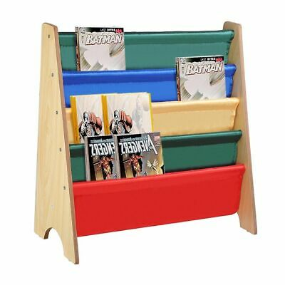 Wooden Ladder Bookcase Display Rack Bookshelf Book Shelves Shelving Organizer