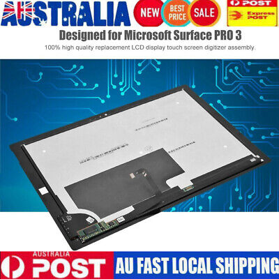 12in LCD Digitizer 2160 x 1440 pixels Replacement for Microsoft Surface PRO 3 AU