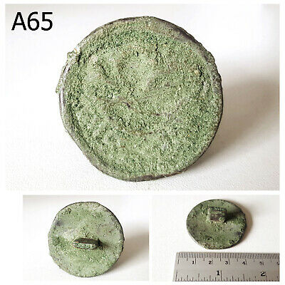 Excavated Near Eastern Luristan Rome BRONZE Stamp RARE #A65