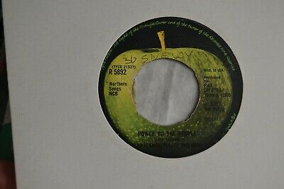 """John Lennon  Plastic Ono Band   Power To The People     7"""" Single     1971 R5892"""