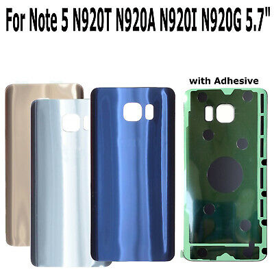 "5.7"" For Samsung Galaxy Note 5 N920 Glass Rear Back Door Housing Battery Cover"