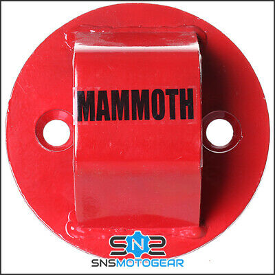 Mammoth Junior Bolt-In Motorcycle Motorbike Security Ground Anchor