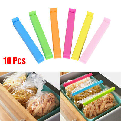 Plastic Food Snack Bag Clip Sealing Clamp Sealer Closer Kitchen Storage Tool New