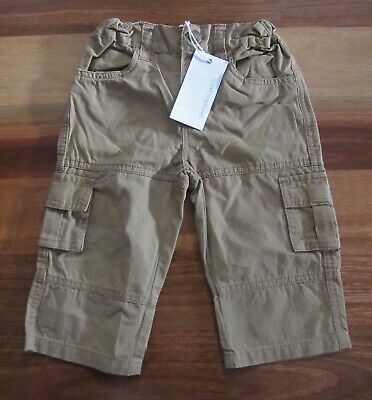 RRP: $34.99 NEW Boys Size 1 Brown Cargo Pants by Pumpkin Patch (100% Cotton)