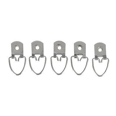 20x Triangle D Ring Strap Hanger Medium For Picture Frame Hanging Fasteners XBOQ